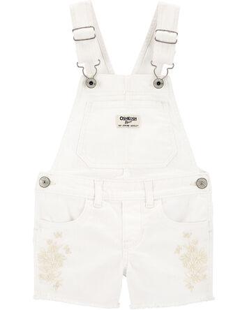 Embroidered Shortalls