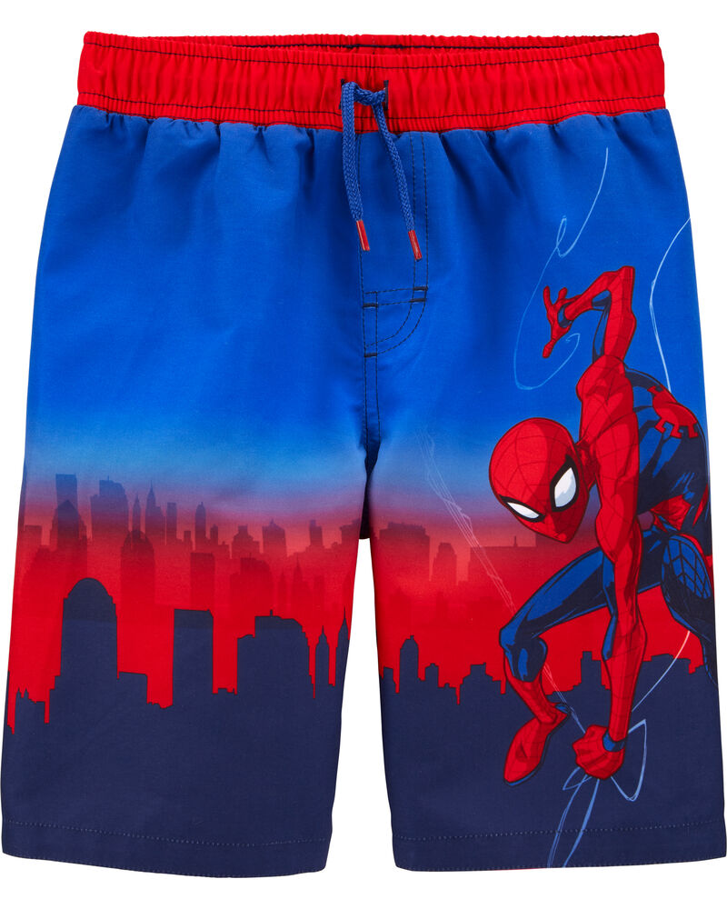 Spider-Man Swim Trunks, , hi-res