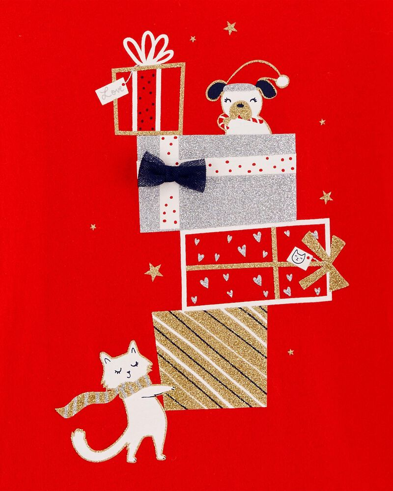 Holiday Hooded Jersey Tee, , hi-res