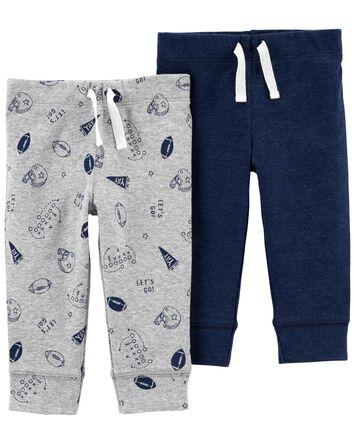 Emballage de 2 pantalons à enfiler