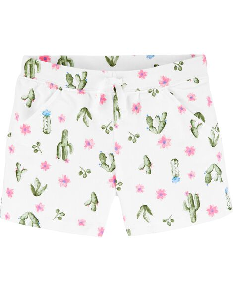 Cactus Pull-On French Terry Shorts