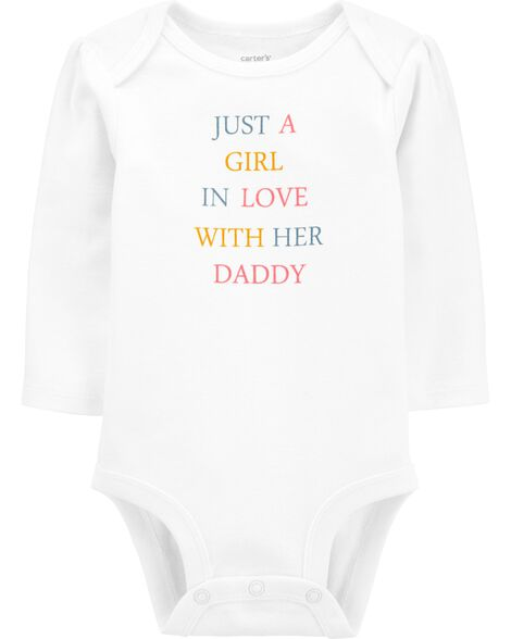 A Girl In Love With Her Daddy Original Bodysuit