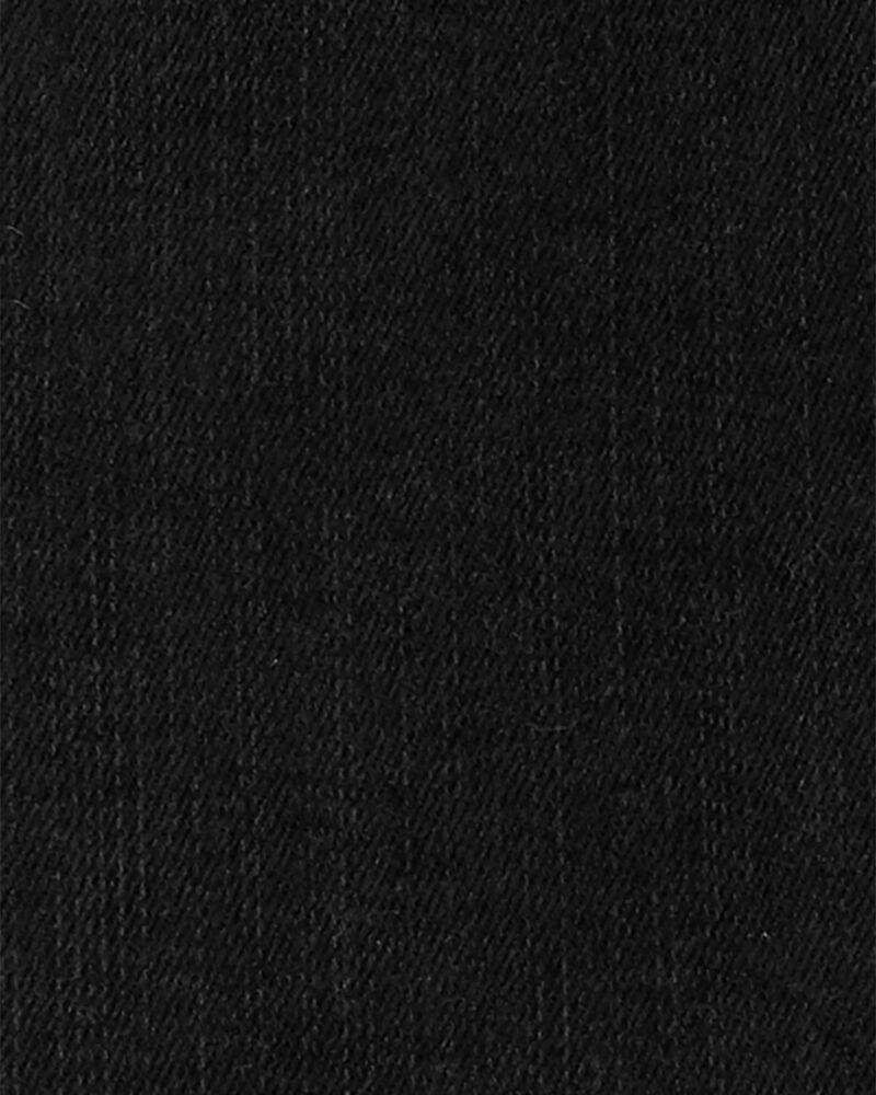 Robe chasuble en tricot de denim, , hi-res
