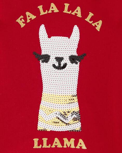 T-shirt à lama des Fêtes