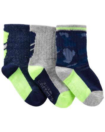 3-Pack Athletic Socks