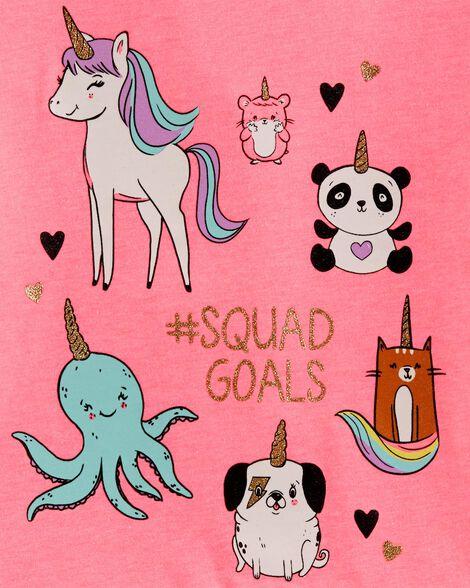 #SquadGoals Peplum Top