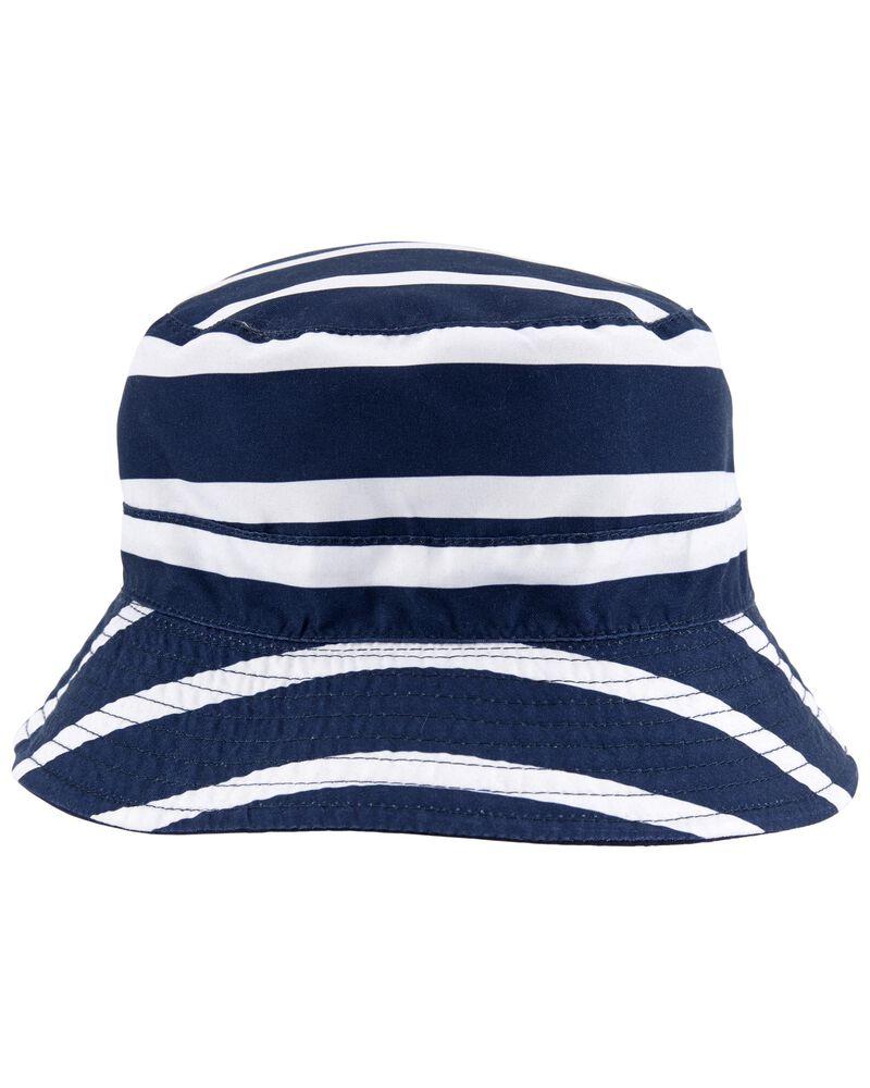 Striped Bucket Hat, , hi-res