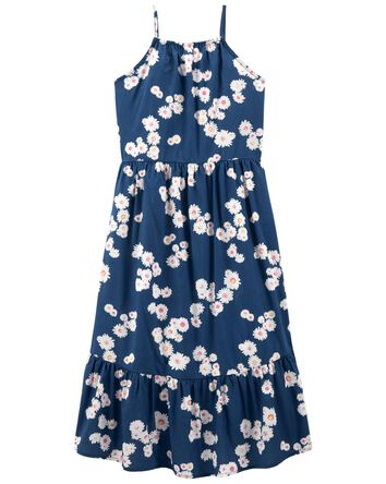 Floral Hi-Low Sun Dress