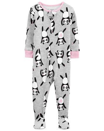 1-Piece Panda 100% Snug Fit Cotton...