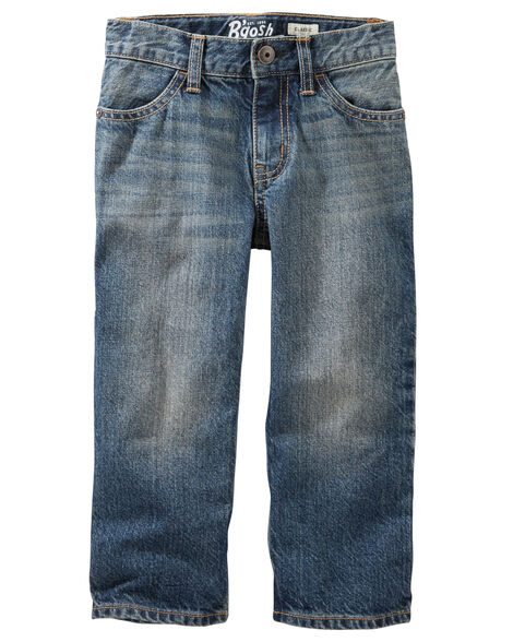 Classic Jeans - Tumbled Medium Faded Wash