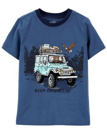 T-shirt Keep on Rollin'