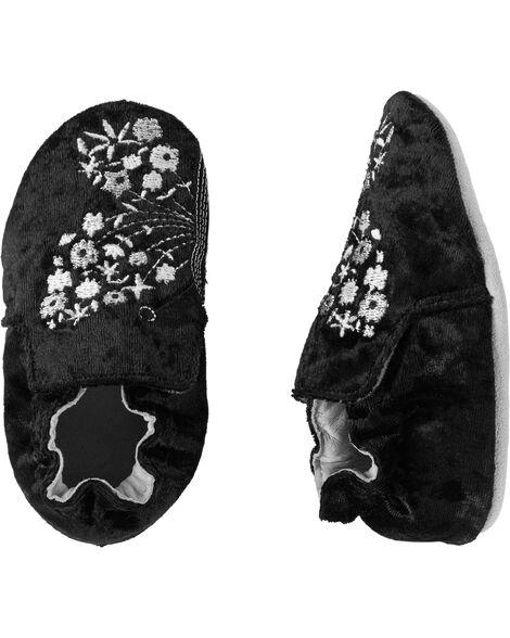 Chaussures à semelles souples Béatrice le papillon