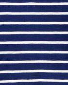 Striped Slub Jersey Henley, , hi-res