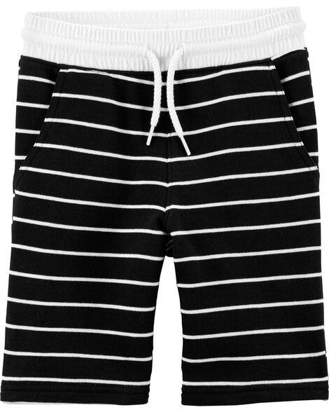 Short en tricot facile à enfiler