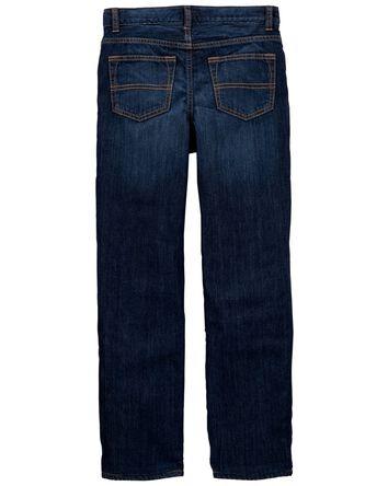Microfleece-Lined Jeans - Yeti Blue...