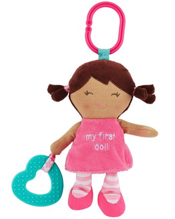 Plush Doll Teething Toy
