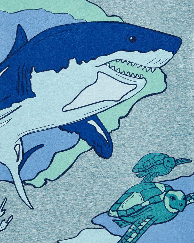 Shark Snow Yarn Jersey Tee, , hi-res