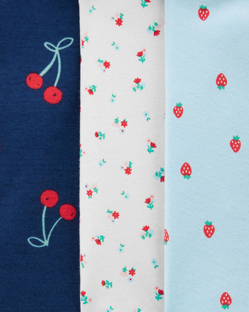 5-Pack Cherries Original Bodysuits, , hi-res
