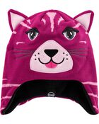 Kombi Fleece-Lined Cathleen The Kitten Knit Hat, , hi-res