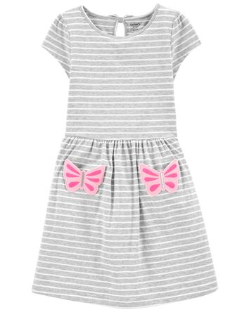 Butterfly Pocket Dress