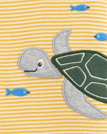 Turtle Snap-Up Romper
