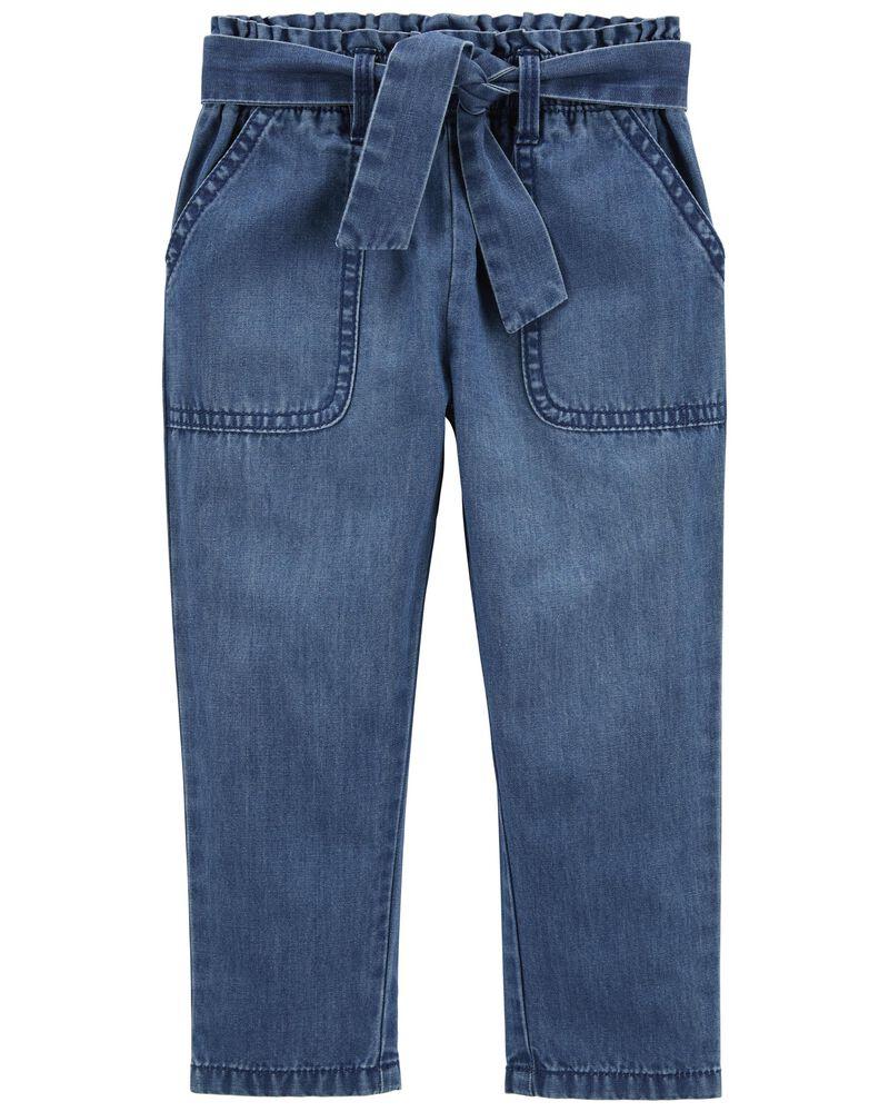 Paperbag Pants in Memphis Wash, , hi-res