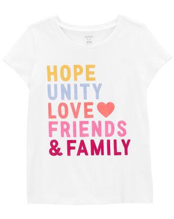 T-shirt en jersey Family