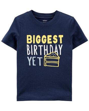 T-shirt en jersey Birthday