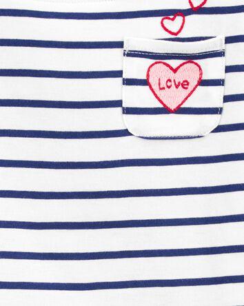 Love Pocket Boatneck Tee