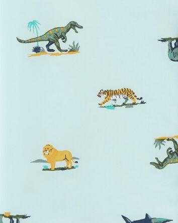Animals Button-Front Shirt