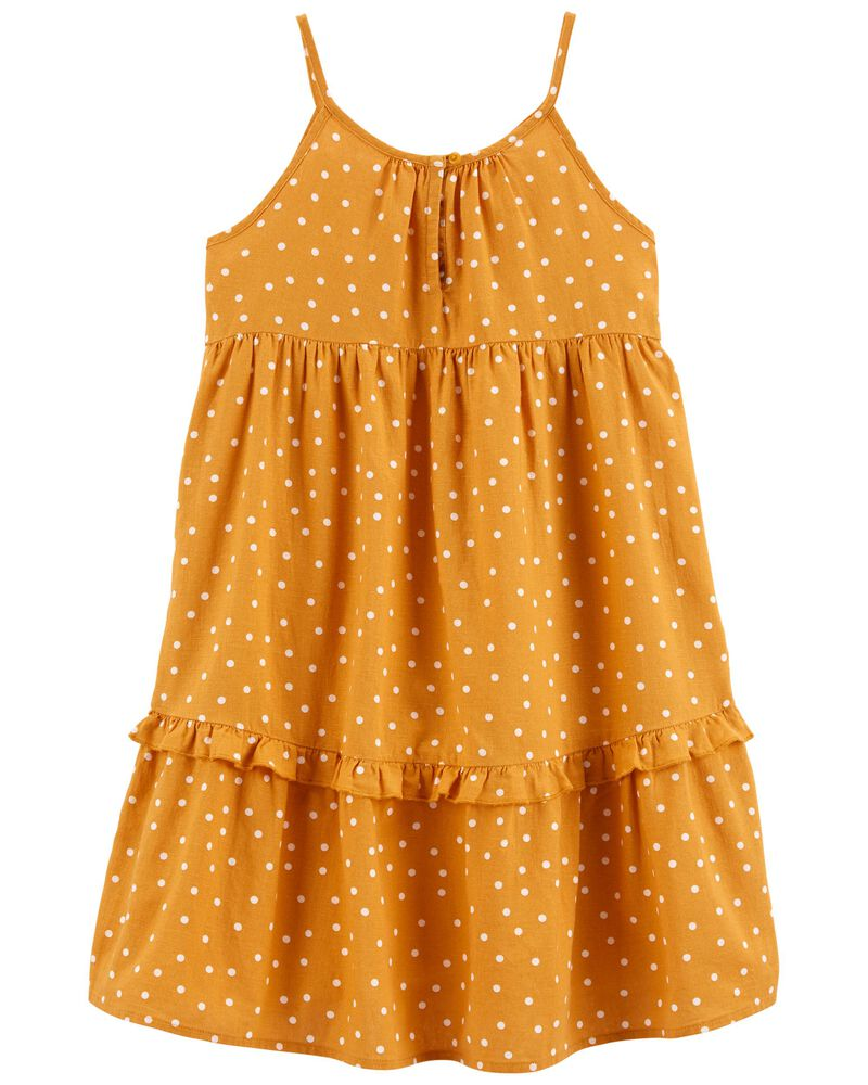 Tiered Ruffle Sun Dress, , hi-res