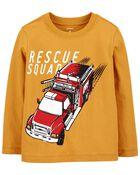 T-shirt en jersey Firetruck Rescue Squad, , hi-res