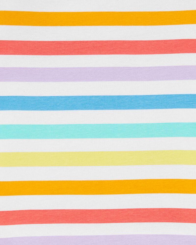 Pyjamas 4 pièces en coton ajusté Dream in Color, , hi-res