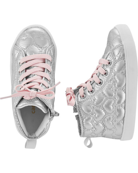 Heart High Top Sneakers