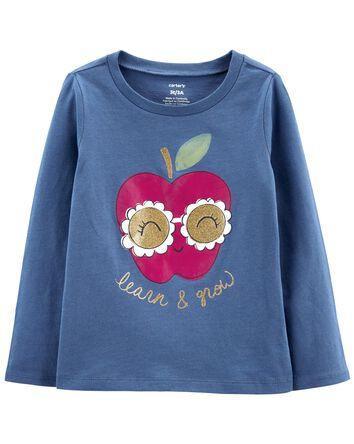 T-shirt en jersey Apple Grow