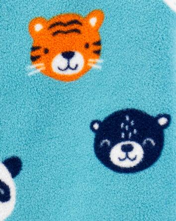Animals Snap-Up Fleece Sleep & Play
