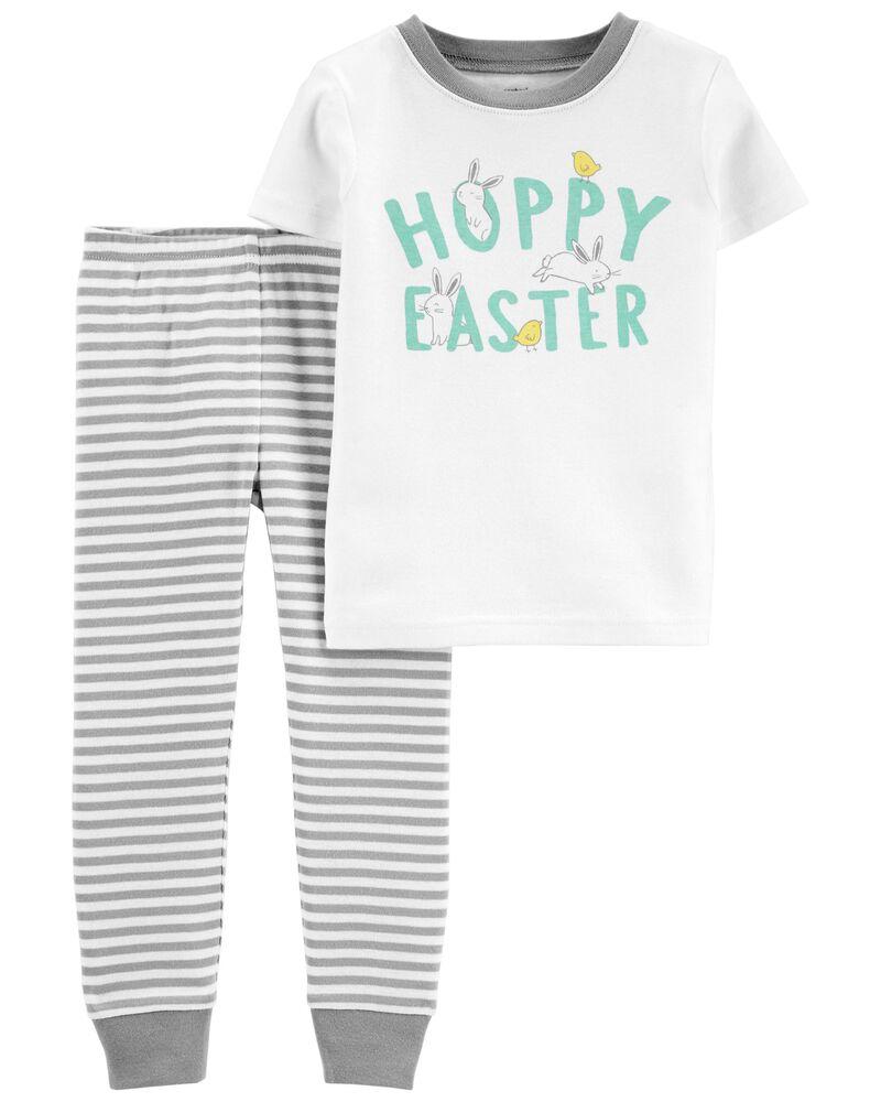 2-Piece Easter 100% Snug Fit Cotton PJs, , hi-res