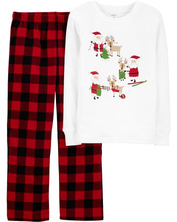 2-Piece Santa PJs