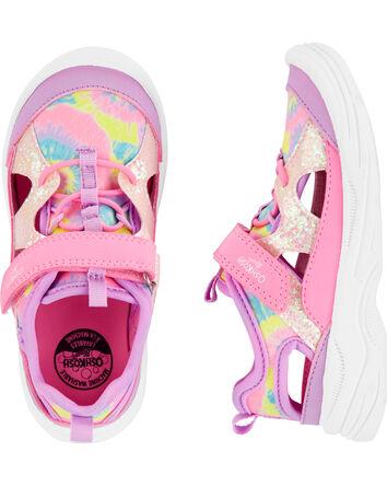 Tie-Dye Bump Toe Sandals