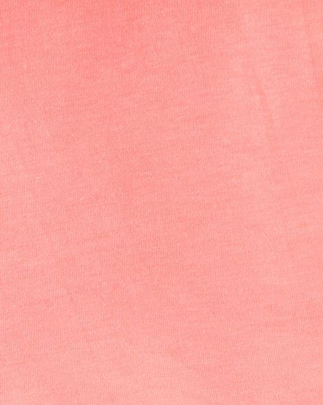 2-Piece Ruffle Jersey Top & Floral Capri Legging Set