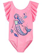 1-Piece Mermaid Swimsuit, , hi-res