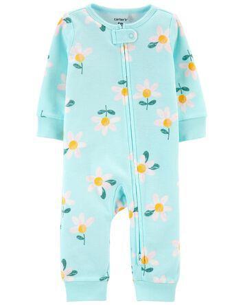 Daisy Zip-Up Footless Sleep & Play