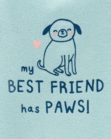 Cache-couche My Best Friend Has Paw...