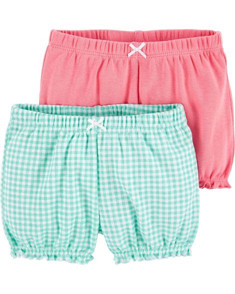 2-Pack Bubble Shorts