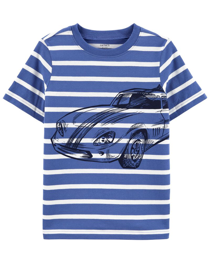 Striped Car Jersey Tee, , hi-res