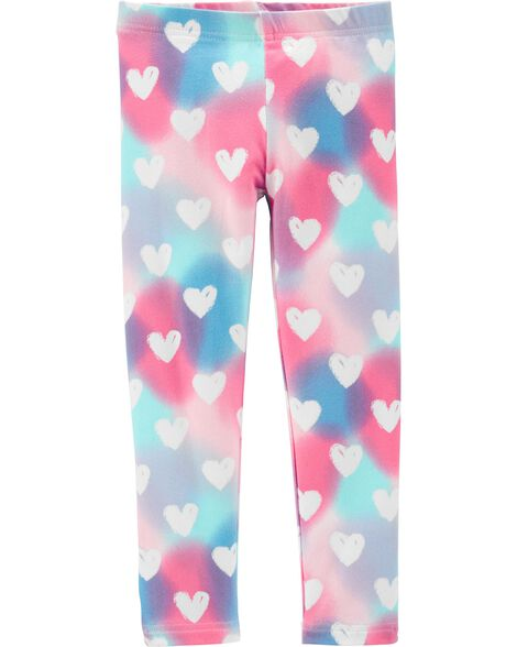 Rainbow Heart Leggings