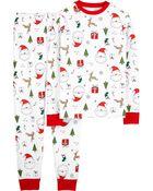 2-Piece Adult 100% Snug Fit Cotton PJs, , hi-res
