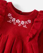 Organic Cotton Sweater Dress, , hi-res
