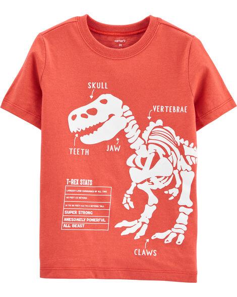 Dinosaur Diagram Jersey Tee