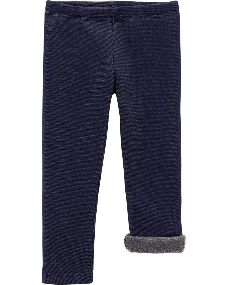 Legging en tricot de denim douillet , , hi-res